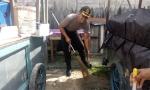 Polres Sukamara Edukasi Masyarakat Buang Sampah Pada Tempatnya