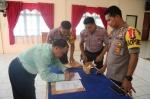 Polres Bartim Teken MoU dengan Wilayah Objek Vital