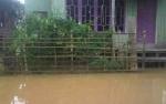 Air Sungai Katingan Mulai Meluap di Tumbang Samba Katingan Tengah