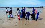 Marnit Ditpolairud Samuda Ajak Masyarakat Jaga Kebersihan