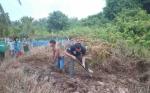 Buaya Tewas di Sungai Seranggas Dikuburkan di Pemakaman Umum