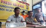 Polisi Gelar Press Release Kasus Pembunuhan Pemuda 23 Tahun