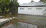 Hujan Lebat Guyur Kasongan, Halaman Rumah Warga Tergenang Air