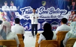 Wakil Bupati Buka Festival Seni Budaya Tingkat Pelajar se-Barito Utara