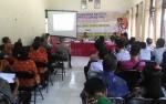 BNNK Gunung Mas Sosialisasikan Bahaya Narkoba di Kecamatan Rungan Barat