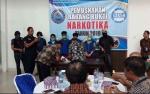 Sabu Dimusnahkan BNNP Kalteng Senilai Rp2 Miliar