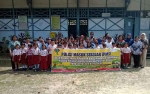 Polsek Kapuas Hilir Gelar Program Polisi Masuk Sekolah di SDN 2 Barimba