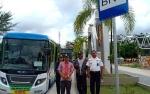 Rekreasi Gratis dengan Bus di Kota Palangka Raya