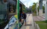 Uji Coba Layanan Bus Gratis Hanya Lima Bulan