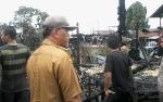 Wakil Bupati Katingan Bantu Pemadaman Kebakaran di Jalan Kenangan