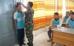 Kodim 1011 Kuala Kapuas Sambangi SMA Sosialisasikan Penerimaan Prajurit TNI