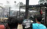 Polisi Selidiki Penyebab Kebakaran di Jalan Kenangan Kasongan