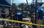 Kerugian Materi Kebakaran Kompleks Pasar Kereng Pangi Rp200 Juta