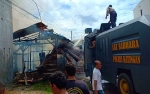 Kebakaran di Komplek Pasar Kereng Pangi Hanguskan Barak dan Warung Sembako