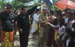 Ini Pesan Bupati Kapuas saat Hadiri Pawai Ogoh-ogoh di Kecamatan Tamban Catur
