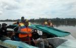 Bupati dan Sekda Ikut Mencari Warga Telangkah Tenggelam di Sungai Katingan