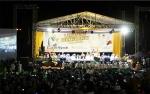 Tiba di Arena, Habib Syech dan Rombongan Dismbut Gemuruh Lantunan Sholawat