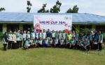 Siswa SD, SMP dan SMK Sumbermas Sarana Ucapkan Selamat HUT Hj Nuriyah Melalui Video