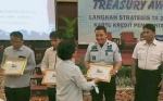 Rutan Palangka Raya Terima Penganugerahan Treasury Award