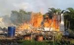 Satu Rumah di UPT Hiyang Bana Katingan Ludes Terbakar