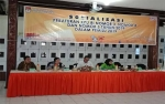 KPU Barito Selatan Tuan Rumah Rakor Wilayah IV Persiapan Penetapan DPTb Tahap II