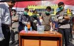 Polres Barito Utara Musnahkan 75,08 Gram Sabu