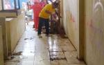 Kondisi Pasar Patanak Penuh Sampah Berserakan