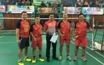 Riko Ceper dan Kurniawan Dwi Yulianto Meriahkan Turnamen Bulu Tangkis PB Sahati Cup