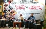 Wakil Bupati Lamandau Paparkan Festival Babukung di Kementerian Pariwisata RI