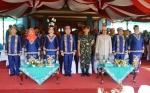 Bupati Bacakan Sambutan Gubernur di Hari Jadi Kota Kuala Kapuas dan Pemkab
