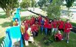 Program Penghijauan Rutan Palangka Raya Sambut Hari Bhakti Pemasyarakatan ke 55