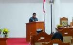 Bupati Pulang Pisau Sampaikan Pidato Pengantar LKPJ Kepada DPRD