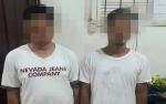 Dua Laki-laki Tertangkap Tangan Miliki Sabu