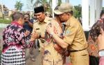 Bupati dan Wabup Lamandau Sambut Peserta Visitasi Diklatpim dari Jawa Tengah