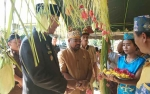 Bupati Sukamara Hadiri Perayaan Nyepi Warga Desa Ajang