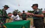 Danrem 102 Panju Panjung Tutup TMMD di Kalampangan