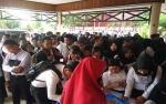 Antrean Panjang Warnai Pengisian Absen Penyerahan Keputusan Pengangkatan CPNS Kotim
