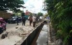 Pembangunan Drainase di Jalan Ahmad Yani dan MT Haryono Baru Capai 25,16%