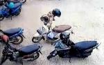 Maling Telepon Seluler Terekam CCTV di Sampit