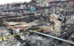 Kebakaran di Kompleks Puntun, Dua Orang Dibawa ke RS Bhayangkara