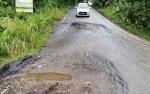 Warga Keluhkan Kerusakan Jalan Lingkar Kota Muara Teweh