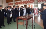 100 Pejabat Administrasi dan Fungsional Lingkup Pemkab Kapuas Dilantik