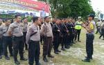 Kabag Ops Polres Bartim Jemput Personel BKO Pengamanan Pemilu 2019