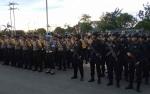 Perkuat Pengamanan Pemilu, Polres Kapuas Sambut Kedatangan 216 Anggota BKO dari Polda Kalteng