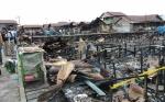 Puslabfor Lakukan Olah TKP Kebakaran di Kompleks Puntun