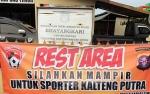 Polsek Kapuas Timur Sediakan Rest Area bagi Suporter Kalteng Putra