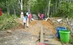 Desa Lampeong II Bangun 4 Jalan Lingkungan
