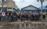 Berikan Rasa Aman, Jajaran Polres Kapuas Patroli Bersepeda
