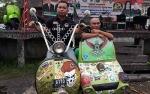 Hasupa Hasundau Bikers Se-Kalimantan di Gelar di Lapangan Bukit Ngalangkang