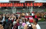 Bandara Tjilik Riwut Akhirnya Diresmikan Presiden Jokowi